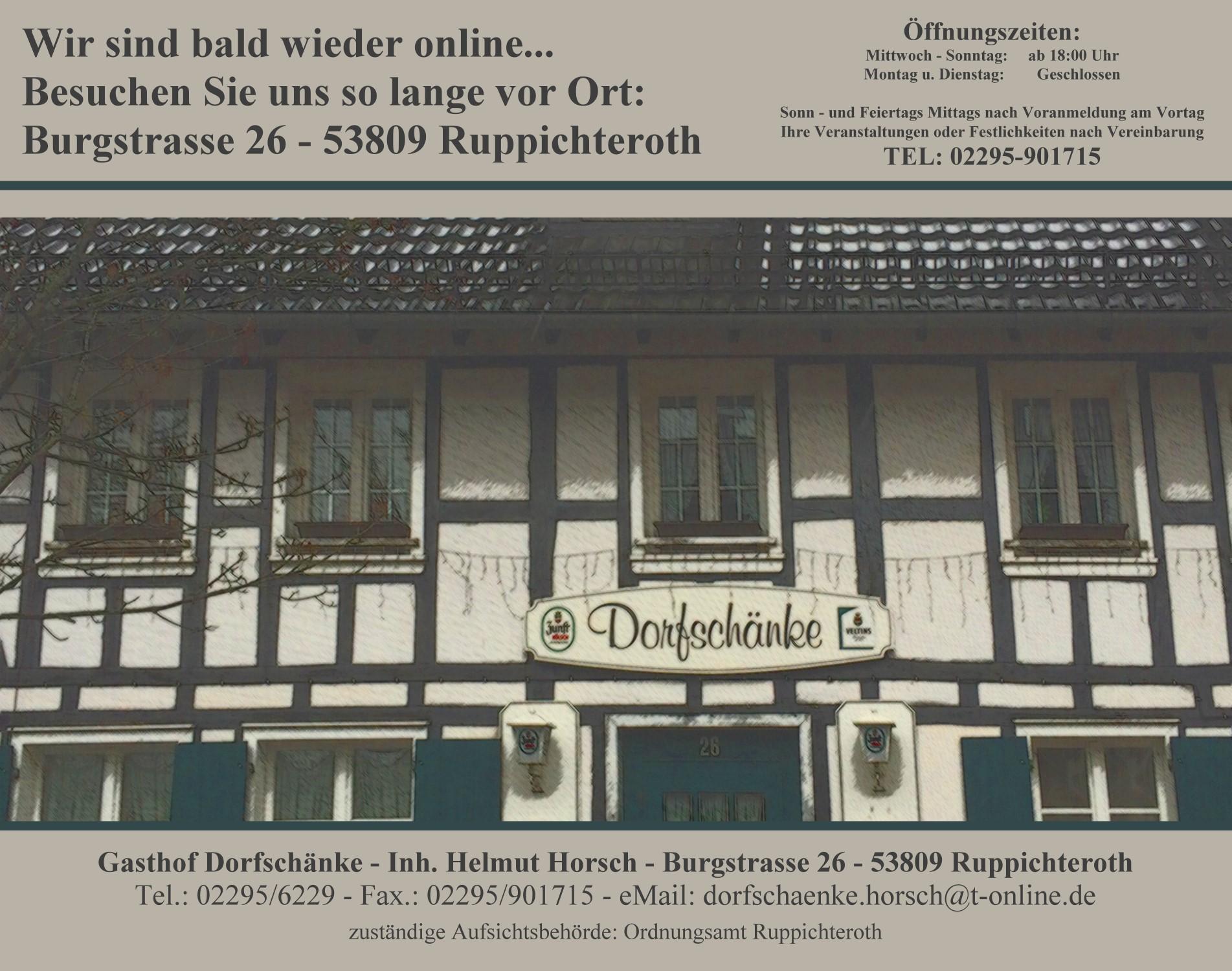 Dorfschänke - Ruppichteroth